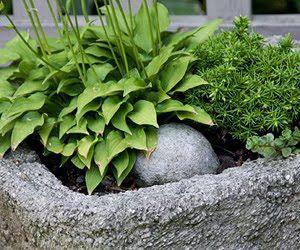 easy stone planter