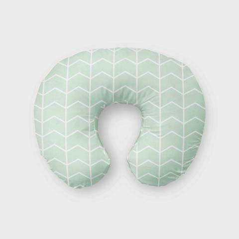 Mint Boppy Cover Nursing Pillow Cover