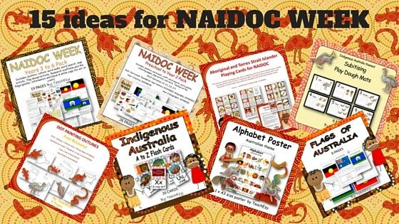 15 ideas for NAIDOC WEEK