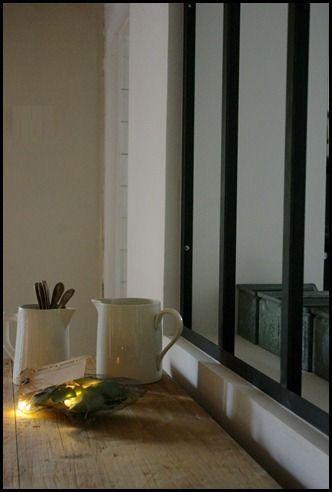 Séparation cuisine/couloir