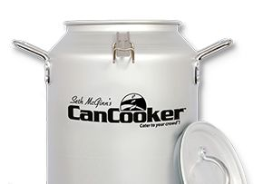 Seth McGinn's CanCooker - A complete meal in less than an hour - anywhere you cook! Your kitchen, your backyard, your outdoor adventure!