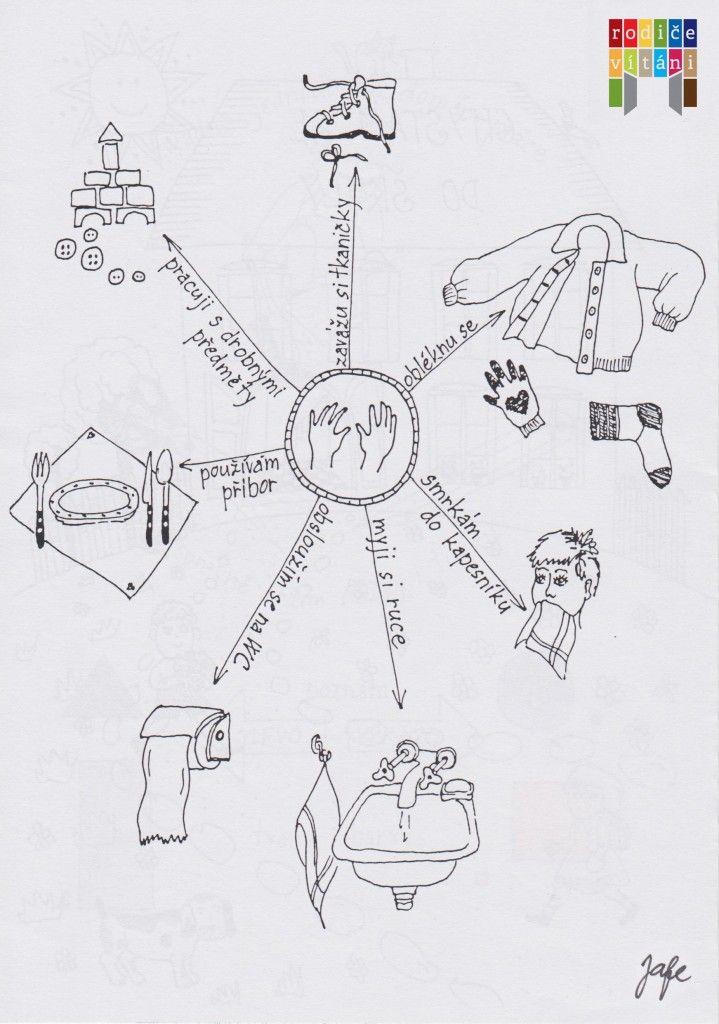 Co musí umět při zápisu předškolák  Co umí moje ruce