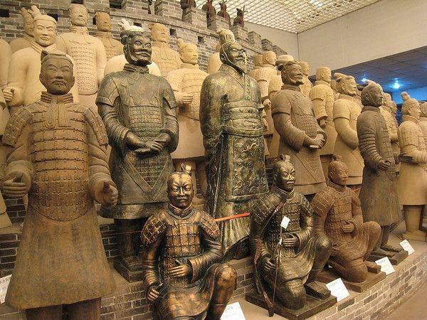 Мавзолей Цинь Ши Хуан Ди и Терракотовая армия - Сиань, Китай фото