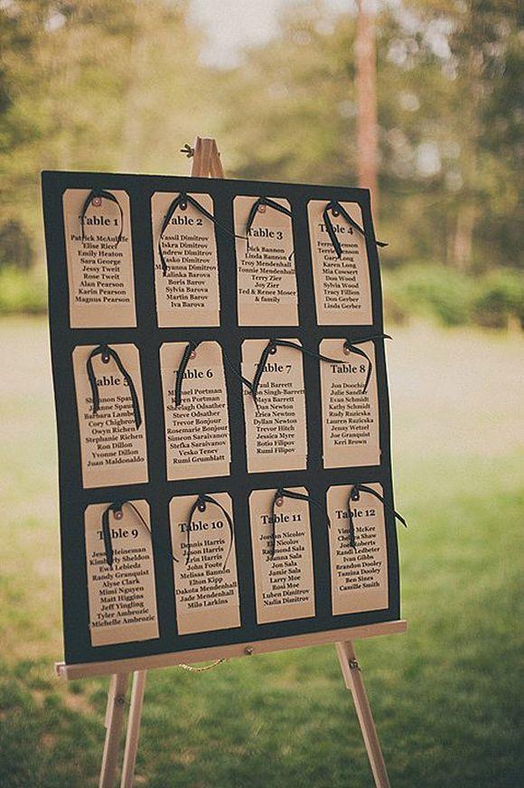 Como presentar las listas de invitados en tu boda