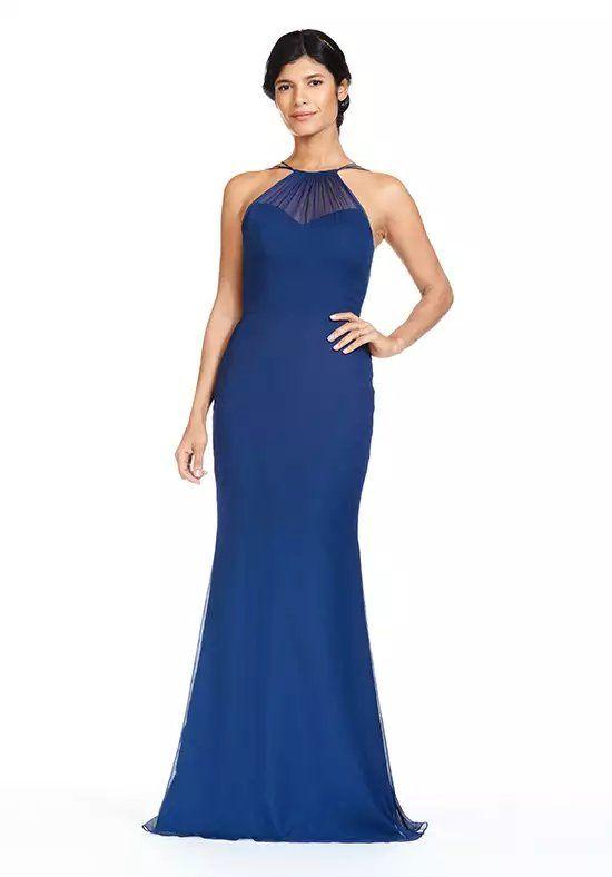 8a592cba3c75 Bari Jay Bridesmaids 1815 Illusion Bridesmaid Dress
