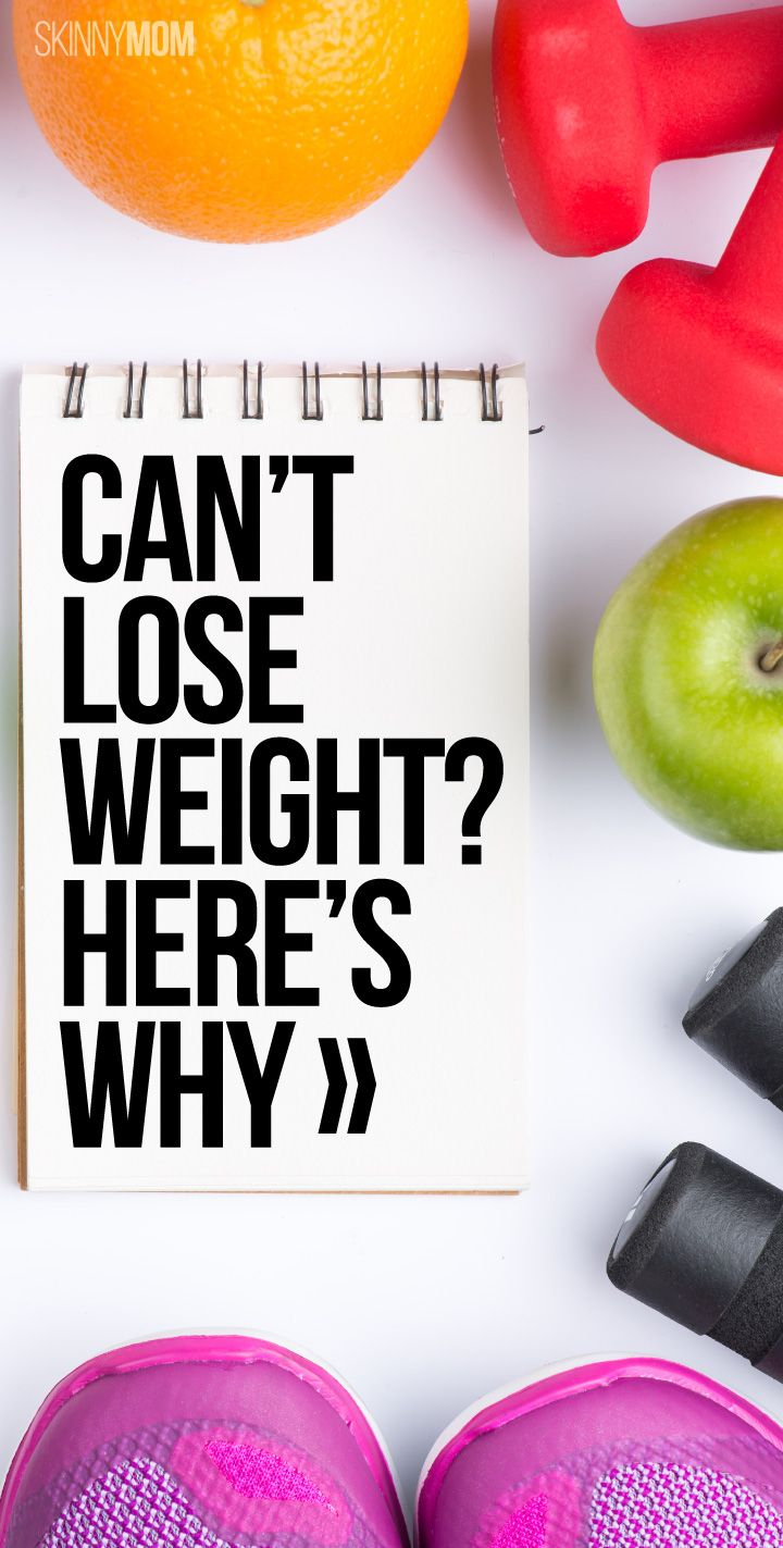 Not sure why you can't lose weight? These sneaky reasons could be behind it!