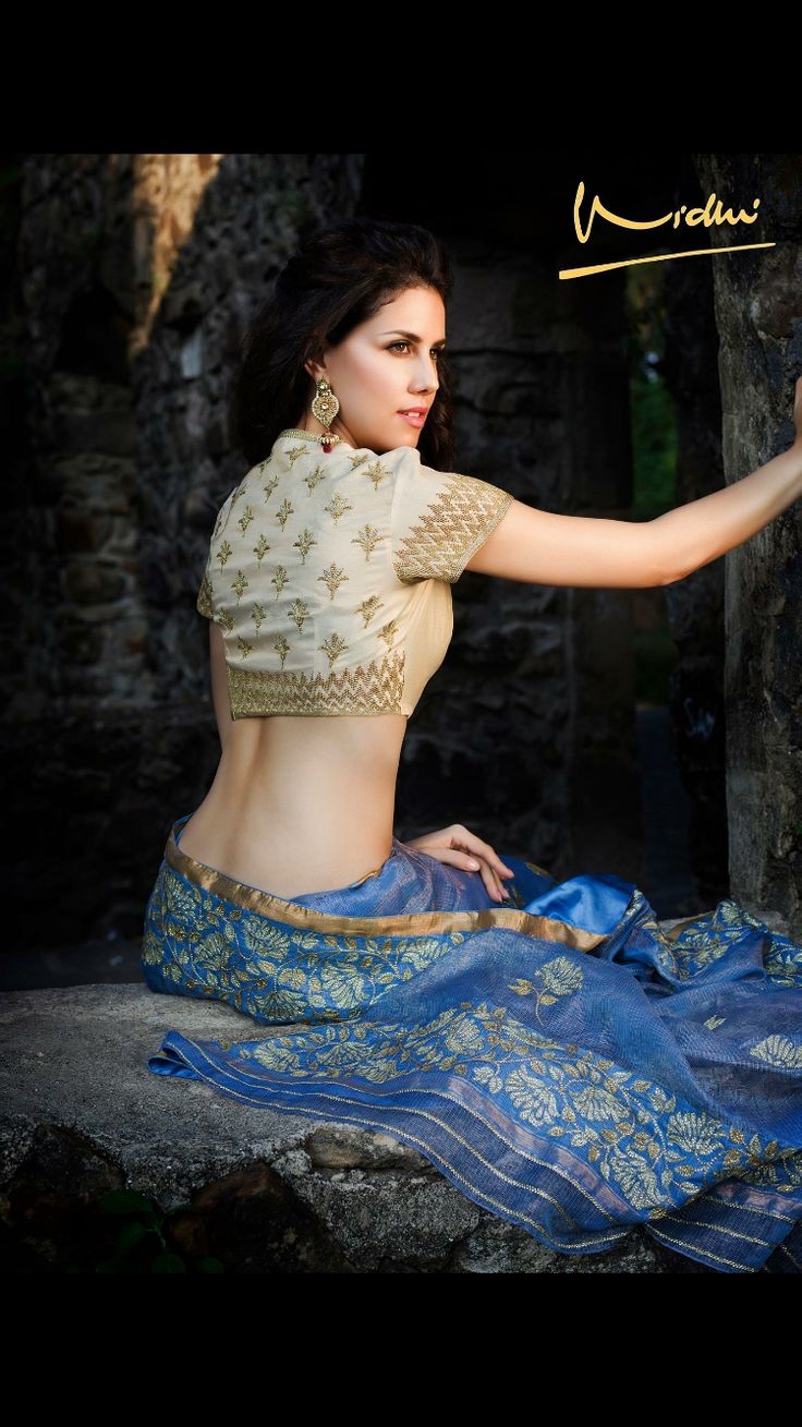 Elegance, Style, Simplicity portrayed by Joice Gabriela in a Vidhi Singhania. Photo: Sharat Chandra.