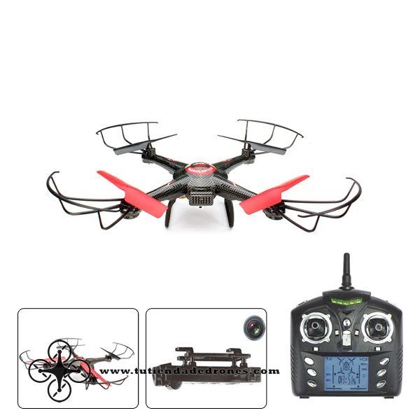 Dron JJRC V686J 2.4G 4CH 6 Ejes RC Quadcóptero con 720P 2.0MP HD Cámara RTF -- 87,99€