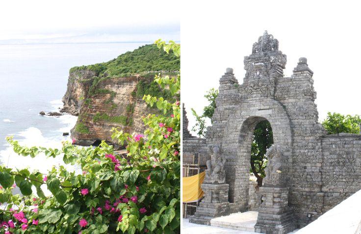 Uluwatu Temple in Bali. Featured in the book Lost Guides Bali.