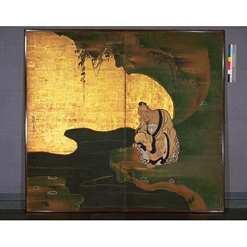 Taikung Wang, by Ogata Korin, Edo Period, Kyoto National Museum
