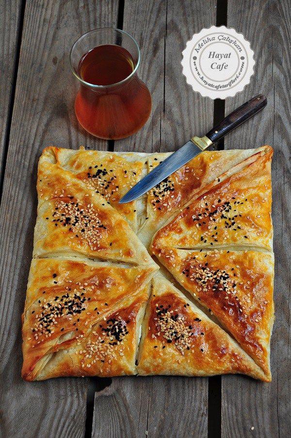 Hazır yufkadan peynirli zarf böreği tarifi