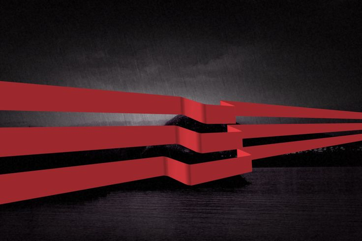 Red and Black 001. by Roy Lindquist 2014