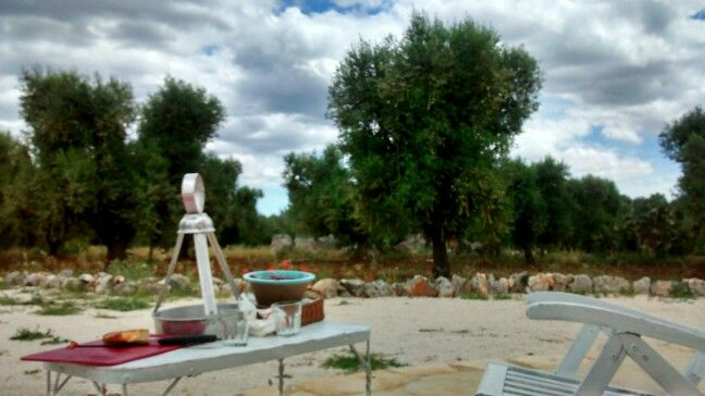 Lunch in trullo