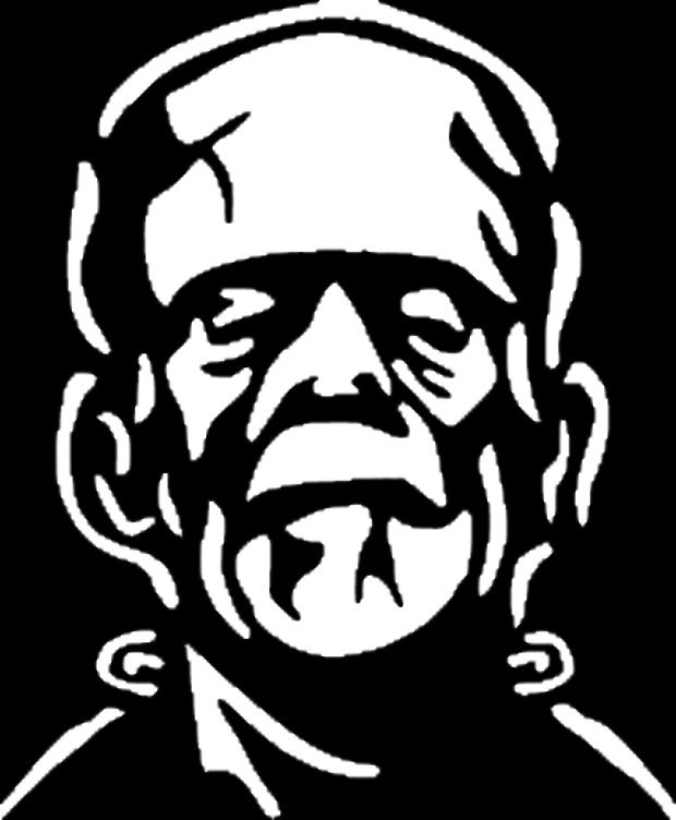 Image result for frankenstein pumpkin stencil