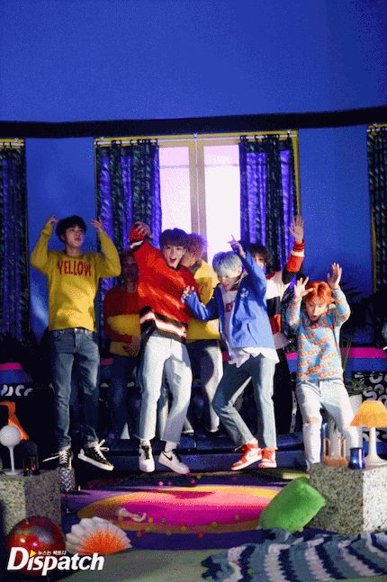BTS X Dispatch! 'DNA' MV~ ❤ (Original Article: m.entertain.naver.com) #BTS #방탄소년단