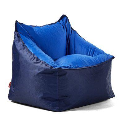 Big Joe Slalom Bean Bag Chair Upholstery Navy Blue