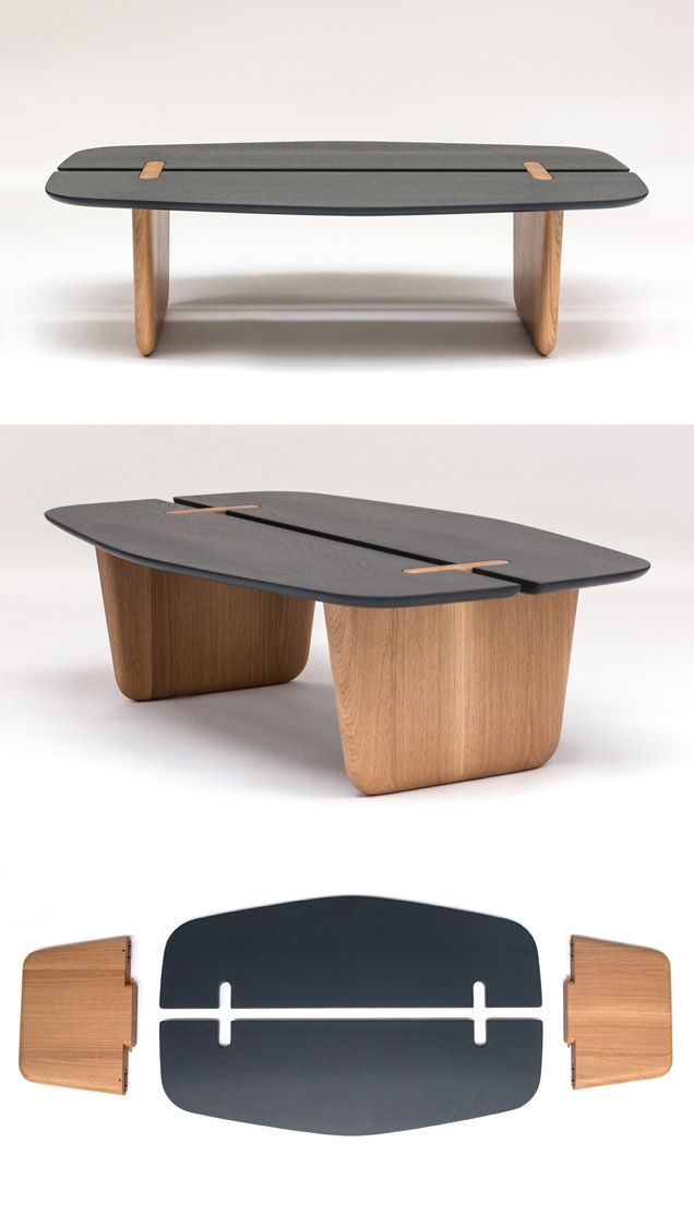 Surf Coffee Table by Guillaume Delvigne