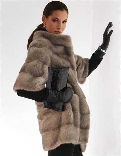 Madeleine | chic fur topper. love the look.