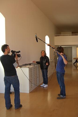 Making of - Fabrizio Plessi nel suo studio