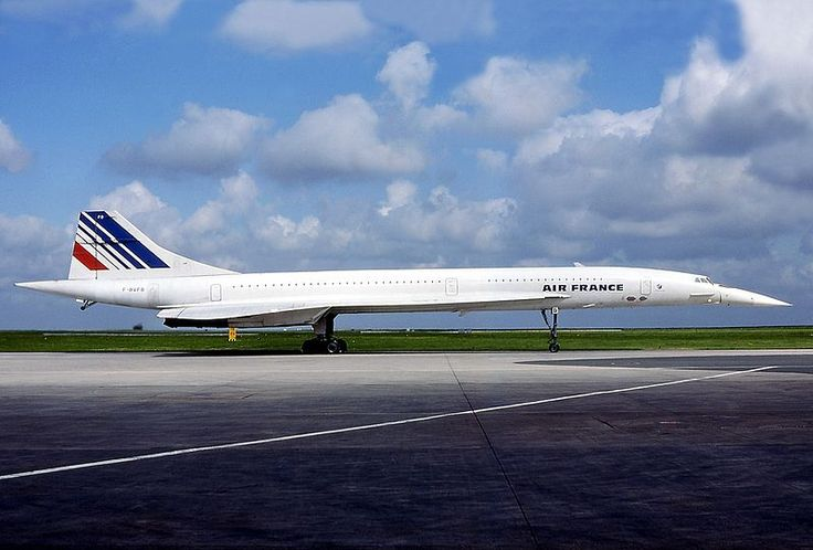 Air France Aerospatiale/BAC Concorde 101 F-BVFB aircraft, parked at France Paris Charles de Gaulle Roissy International Airport. 30/07/1980.