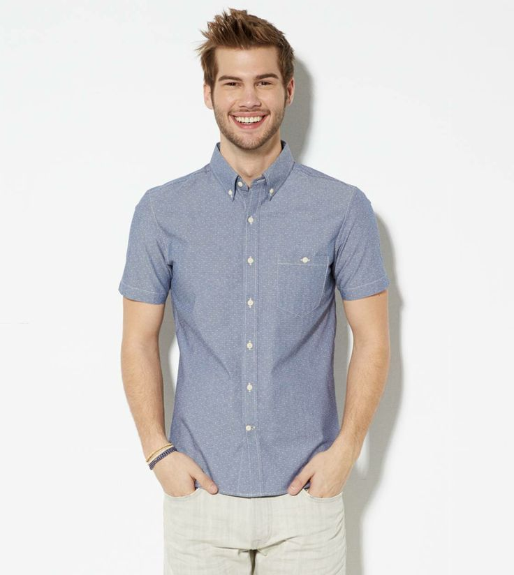 Short Sleeve Button Down Shirts Mens | Is Shirt