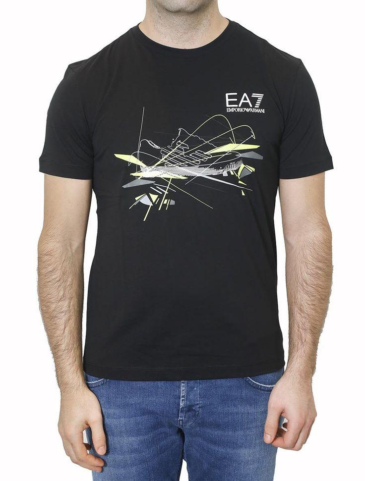 EA7 EMPORIO ARMANI EA7 - T-SHIRT WITH PRINT. #ea7 #cloth #