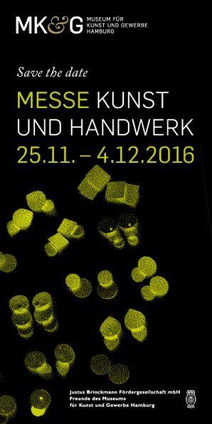 Messe Kunst und Handwerk MK&G Hamburg 25.11. bis 04.12.2016