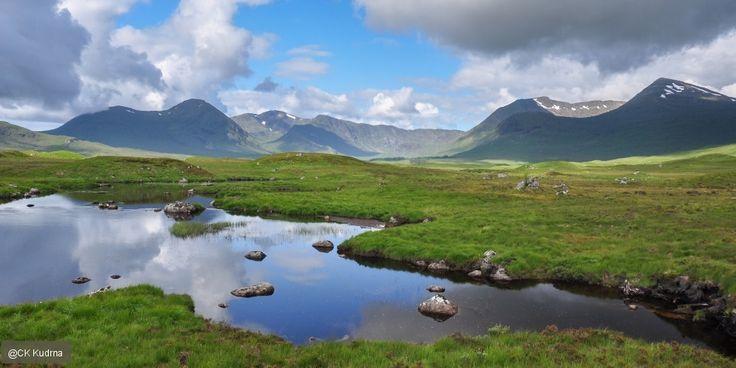 Hory a národní parky Skotska