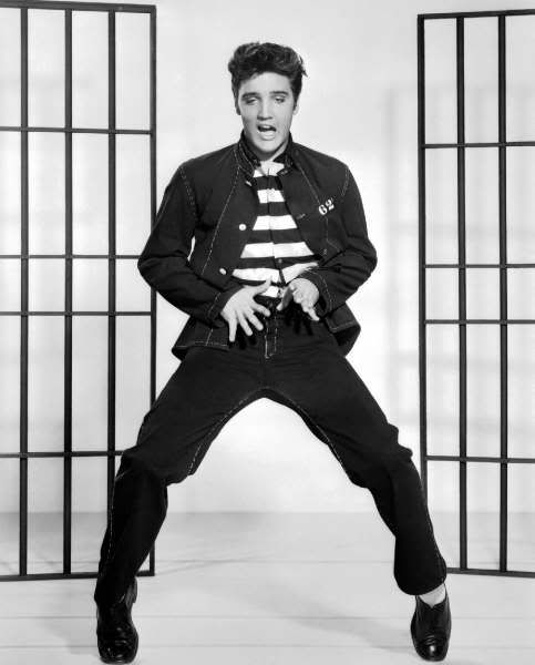 He is sooooo hot in this pic from Jailhouse Rock
