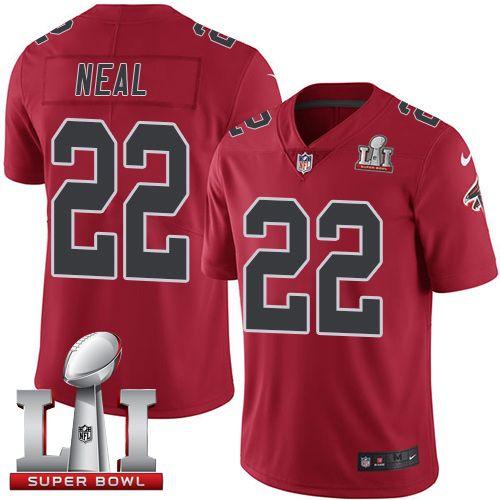 f0e394a7b ... low price jersey nike falcons 22 keanu neal red super bowl li 51 mens stitched  nfl