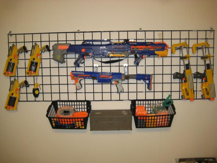 I like this one the best, and I love the baskets beneath to hold bullets!