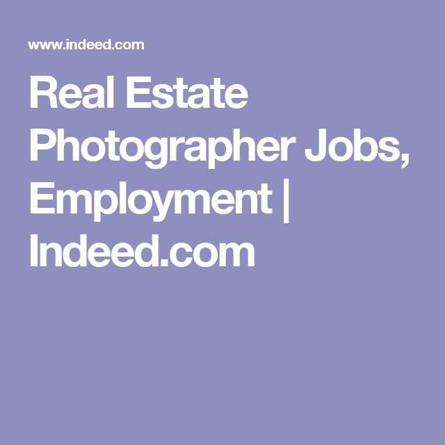 Real Estate Photographer Jobs, Employment | Indeed.com