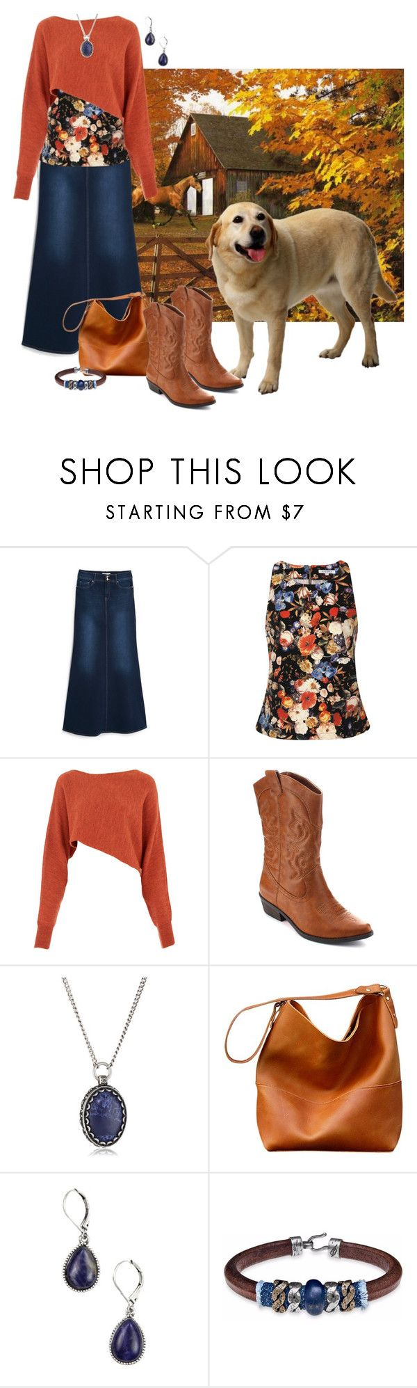 """""""Country Fall"""" by alara-cary ❤ liked on Polyvore featuring MANGO, Glamorous, Crea Concept, Vintage America, Platadepalo and country"""