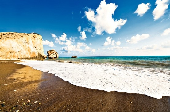 Cyprus - birthplace of Aphrodite.