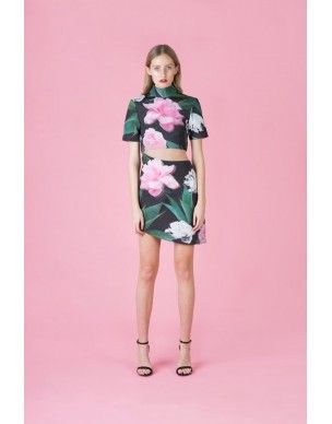 Casper and Pearl Crescent Dress $159  High Neck, Cut Out Side, stunning!  www.lemonfrankie.com.au