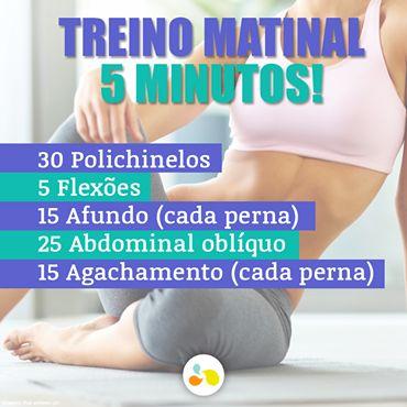 Que tal acordar e já movimentar o corpo para garantir energia para o dia inteiro? http://maisequilibrio.com.br/fitness/treino-rapido-sem-desculpas-3-1-2-345.html