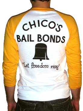 Chico's Bail Bonds Shirt - The Bad News Bears This movie was great.