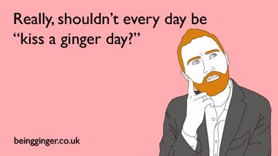 national kiss a ginger day 2014 | kiss a ginger day 403