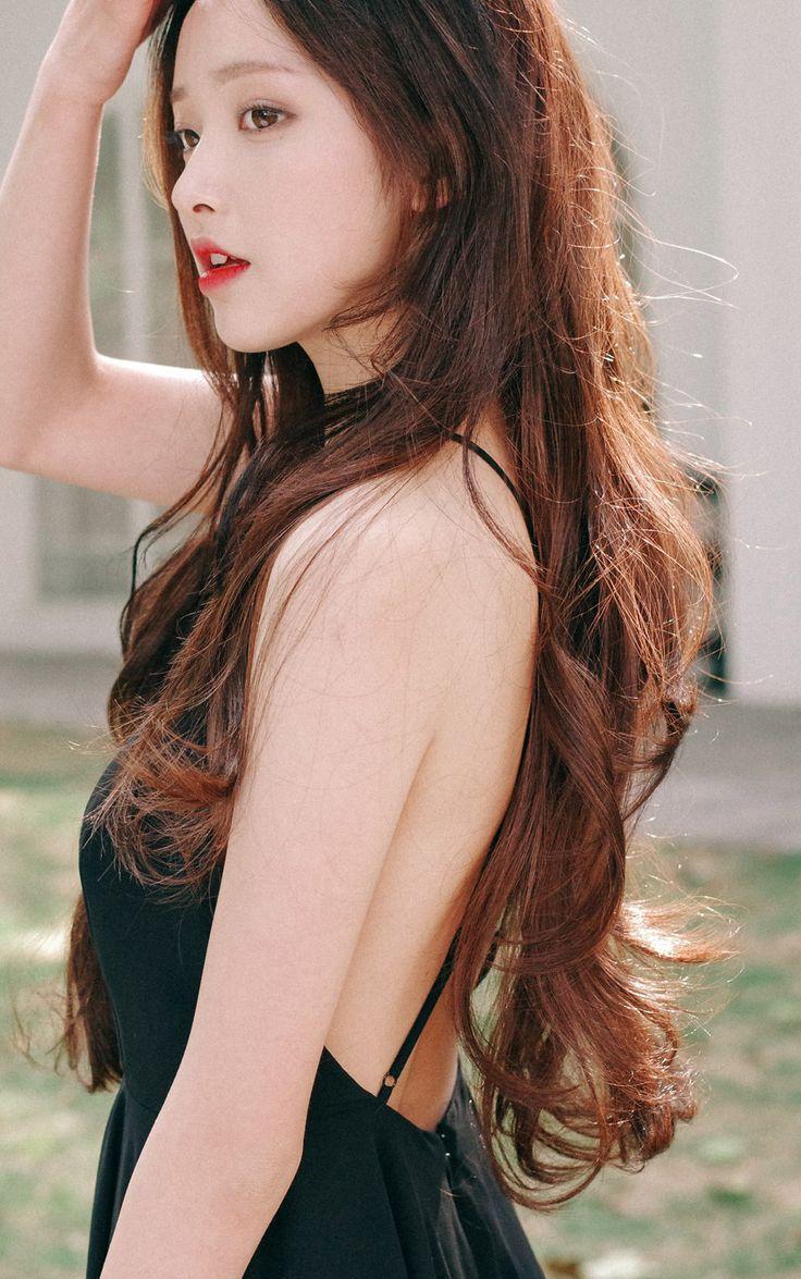 Ulzzang Girl Large Eyes Long Hair: Ulzzang Pretty Korean Girl Selca Asian Fashion ♥