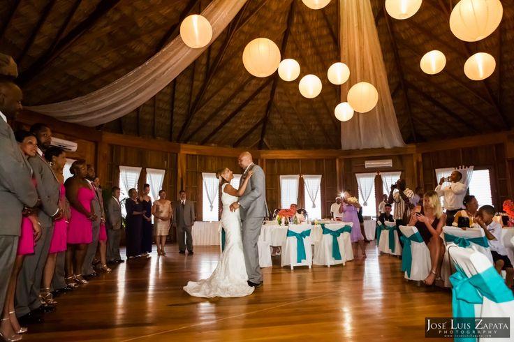Coco Beach Belize #Luxury Palapa #Wedding