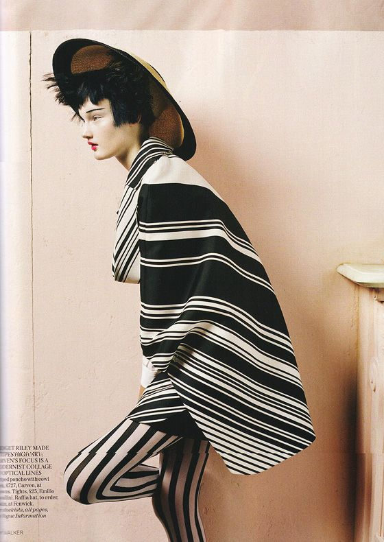 """Lindsey Wixson by Tim Walker for Vogue UK April 2011 """"The Right Lines"""""""