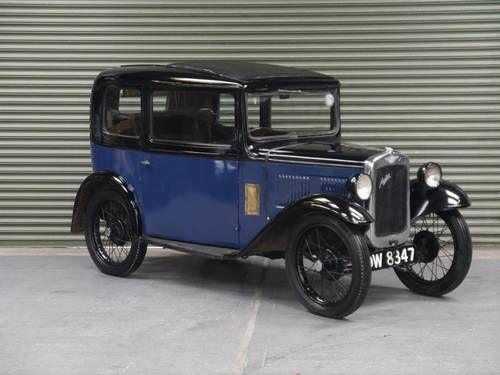 1933 Austin 7 Seven RP Box Saloon