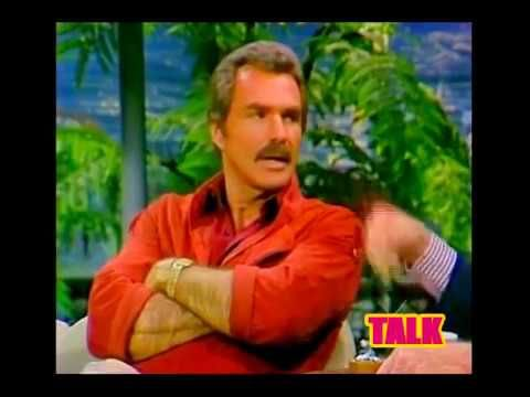 (Actor) Burt Reynolds (Smokey & the Bandit Star) on the Johnny Carson Sh...