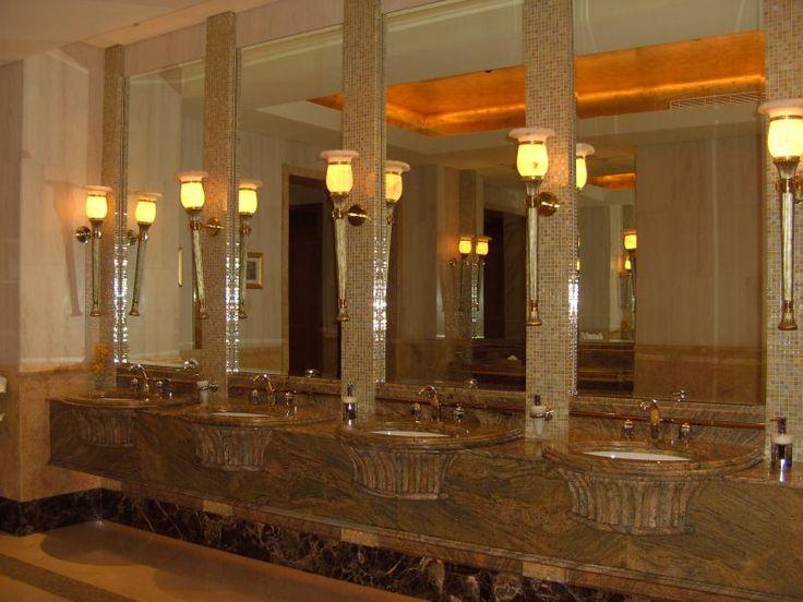 washroom- Emirate's palace hotel-Abu Dhabi