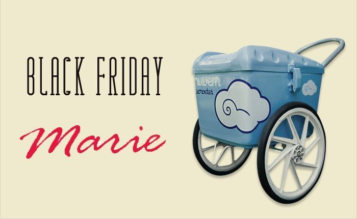 De 28 a 30/11 a Marie está com preços especiais! E no sábado, dia 29, um carrinho lindo da Nuvem Sorvetes estará estacionado em cada loja com vários sabores de picolé!  Marie Leblon: de 10h às 15h Marie Fashion Mall: de 16h às 20h