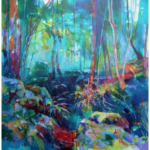 Doug Eaton - Puzzle Wood - Renowned Forest of Dean Artist