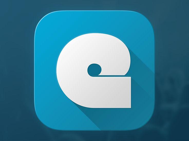 Concert App Icon by Kreativa Studio