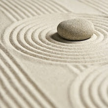 It can't get simpler than this sand design.