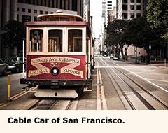 Cable Car Of San Francisco Www Aaa Go