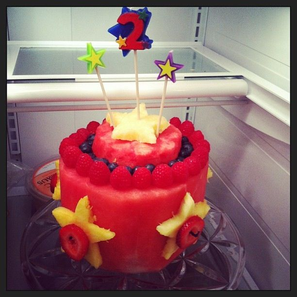 1000 Images About Healthy Birthday Cake Ideas On